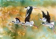 bird watercolor painting - Google Search