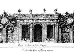 Le Pavillon Frais – Versailles Castle   Tricotel - The art of Treillage since 1848