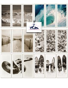 Foxtrot Musings... A collection of Artwork in the store, perfect for your Surf decor!