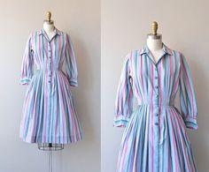Ice Cream Social dress | vintage 1950s shirtdress • cotton 50s shirt dress