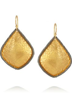Kevia Gold-plated earrings