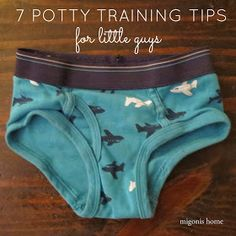 potty training tips for little guys