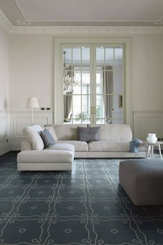 Bisazza concrete flooring