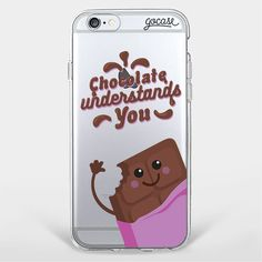 Custom Phone Case Love Chocolate
