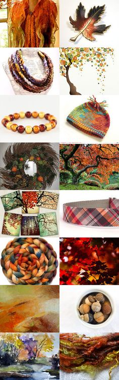 The Hues of Autumn by Katie Corrigan on Etsy--Pinned with TreasuryPin.com