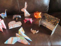 samples of origami