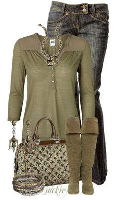 """Louis Vuitton Bag and Boots"" by jackie22 on Polyvore"