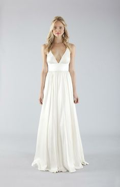 Nicole Miller Elizabeth Bridal Gown -- okay, I'm not getting married or anything, but this is such an elegant dress. Love this!