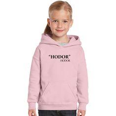 Hodor Hodor Quote Kids Hoodie
