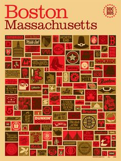 Cannot wait until this Draplin Boston poster is available for purchase.