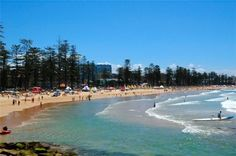 Manly Beach, Australia. So relaxed and gorgeous. My office was within walking distance from here.