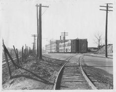 Independence Road (Wilson Avenue) Looking West Kansas City Map, City Government, Historical Pictures, City Streets, Underworld, Railroad Tracks, Missouri, Posts, Facebook