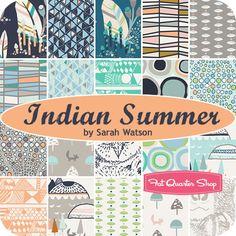 Indian Summer Yardage Sarah Watson for Art Gallery Fabrics - Fat Quarter Shop