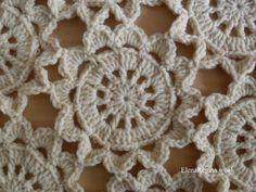 ElenaRegina wool: Come unire i fiorelloni naturali