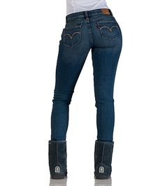 LEVI'S Bold skinny denim jeans 5 pocket design Durable material flr ultimate performance Zip and button closure