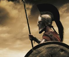For those who need to brush up on their history, here's a quick lesson: Leonidas was the Greek warrior king who led the Spartan forces in the Second Persian War Spartan Workout, 300 Workout, 300 Movie, Warriors Wallpaper, Greek Warrior, Spartan Warrior, Warrior Quotes, Warrior Spirit, Holy Mary