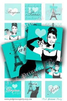 audrey hepburn party invitations - Google Search