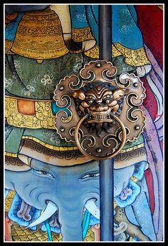 Temple Door Knob