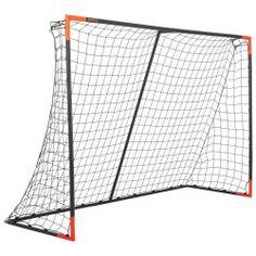 Voetbaldoel Classic Goal maat L x 2 m) marineblauw/oranje Nordic Walking, Judo, Taekwondo, American Football, Karate, Volleyball, Jiu Jitsu, Storage, Classic