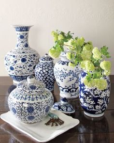 Looking to bring colour, texture and traditional elegance into your home? Why not consider a ginger jar as a decorative feature? Here are some pictures...