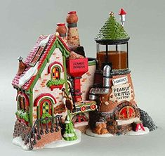 Dept 56 North Pole Series Peanut Brittle Factory >>> This is an Amazon Affiliate link. Click on the image for additional details.