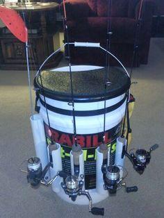 Custom Bucket Ideas #fishingrods