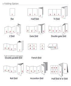Gate Fold Template. diagonal gate fold template cup18635 1 ...