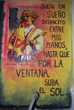 luis alberto spinetta | Tumblr Rock Chic, Glam Rock, Music Quotes, Poetry Quotes, Rock And Roll, Hard Rock, Rock Bands, Power Girl, S Word