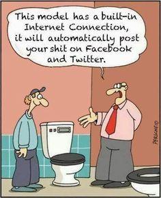 Facebook Humor   From Randy Culler - Google+ via oyasfun   #facebook #twitter #funny