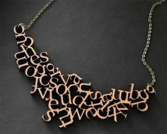 Idea with Scrabble Jewlery