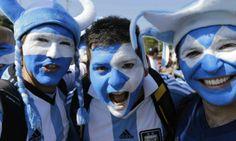 Argentinos en Brasil 2014