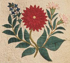 Philadelphia Museum of Art - Collections Object : Botanical Album Quilt