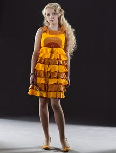 Luna Lovegood's dress for Bill and Fleur's wedding in Harry Potter and the Deathly Hallows Pt. 1