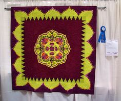 DSC02769 Quilt 2010 Gypsy Rosalie by Ronda K Beyer by godutchbaby, via Flickr