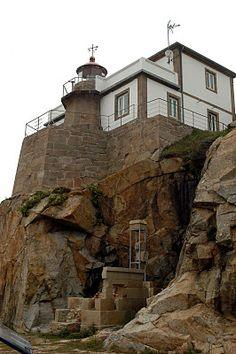 Faro de cabo Prioriño, Ferrol (A Coruña, Galicia)