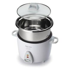 New White Cooks 3 cups of uncooked rice Aroma Simply Stainless Rice Cooker