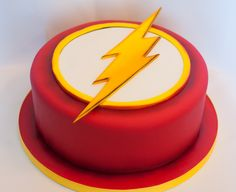 Superhero Flash Birthday Cake by 2bi Cakes