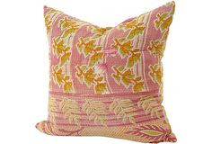 Kantha   Pillow on OneKingsLane.com