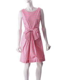 Kate Spade Strip Dress.