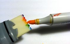 Customize Copic Wide Marker Nibs