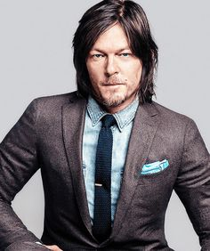 Norman Reedus on the cover of GQ Magazine | October 2014 issue