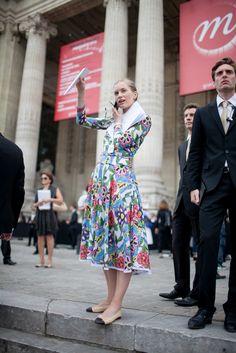 great dress. Paris.