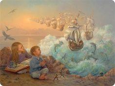 Fairy World ... Artist Lynn Lupetti in category Art