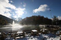 Winterlicher Herbsttag am Riessersee - http://www.riessersee.com/