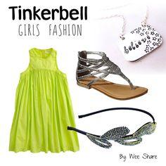 Disney Inspired Girls Fashion- Tinkerbell #DisneySide #DisneySMMoms