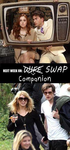 Next week on Companion Swap...