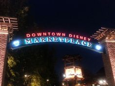 Down Town Disney , Great Date Place!!!!!!!!