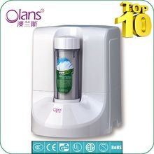 Mini diseño 7 etapa purificador de agua filtro de casa, uf purificador de agua del sistema para beber directo de la familia