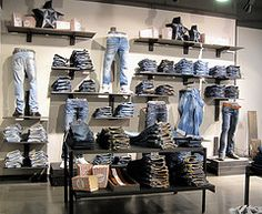 denim, jeans, retail, merchandising
