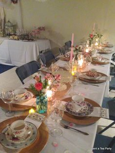 Country Chic Tea Party